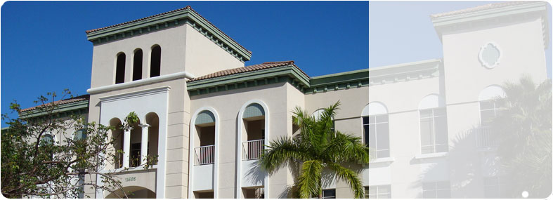 A photo of our headquarters in Coral Springs, Florida.