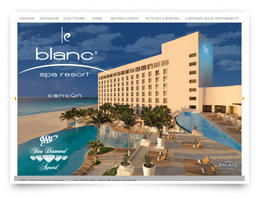 We designed this for Le Blanc Spa Resort.