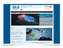 Our web development for Global Lighting Solutions