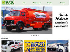 We designed this for Irazu, a cleansing company in Costa Rica.